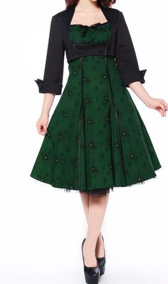 Rockabilly Dress and Jacket Set by Amber Middaugh
