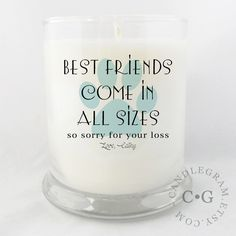 Soy Candle, 10oz by CandleGram....loss of a pet, in memory, sorry for your loss. by CandleGram on Etsy https://www.etsy.com/listing/250486995/soy-candle-10oz-by-candlegramloss-of-a