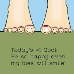 Items similar to Happy Art Positive Attitude Saying Print Happiness Sign Inspirational Poster Smile Quote Print Artwork For Girls Room Feet Illustration Kids on Etsy Foot Quotes, Words Quotes, Sayings, Nail Quotes, Life Quotes, Foot Reflexology, Reflexology Benefits, Podiatry, Facebook Quotes