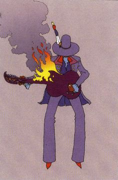 Jimi Hendrix, Moebius
