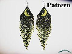 Pattern Moonlight Sonata seed beads brick stitch by FairyFactory, €4.00