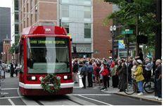 Streetcar in Portland, Oregon OR