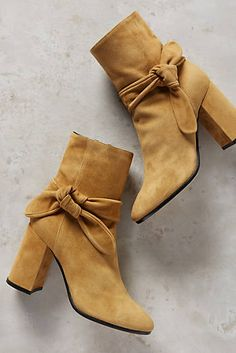 e1c27b227d6a Deimille Bowed Suede Ankle Boots - just bought these. They re awesome! Suede