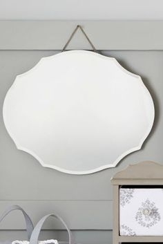Buy Vintage Oval Mirror online today at Next: Israel
