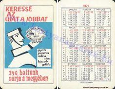 1971 - 1971_0318 - Régi magyar kártyanaptárak