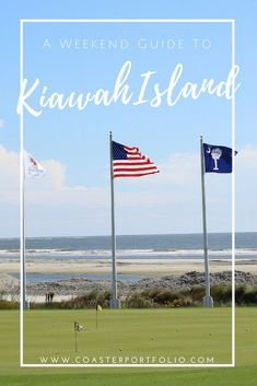 Travel Guide to Kiawah Island, South Carolina // The most beautiful beaches in Charleston #TravelDestinationsUsaSouth