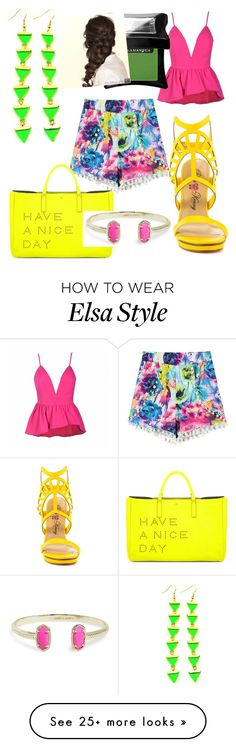 """""""Untitled #16"""" by jesssie21 on Polyvore featuring Ally Fashion, Penny Loves Kenny, Anya Hindmarch, Kendra Scott, Illamasqua and Disney"""