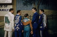 Webb Pierce, Faron Young, Little Jimmy Dickens, Carl Smith and Ray Price.
