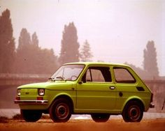 Fiat 126p - these cars are just awful, but well, they are a part of Polish history and culture!