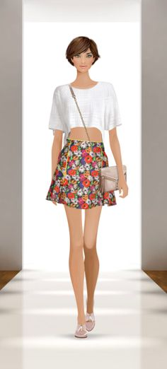Covet fashion!!! Awesome game get it for free! It so improves on my fashion abilities