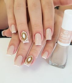 Nail beauty is one of the sine qua non for women. Therefore, different nail designs designed for you Bridal Nails, Wedding Nails, Dark Red Nails, Diva Nails, Different Nail Designs, Luxury Nails, Stylish Nails, Perfect Nails, Nail Arts