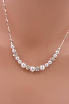 Best 25+ Rhinestone necklace ideas on Pinterest | Vintage rhinestone, Statement necklace wedding and Wedding necklaces