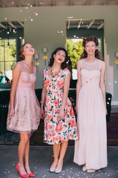 Enter to win a $250 GC with @ModCloth, and one of these beautiful 100 Layer Cake namesake dresses could be yours! | Photo by Fondly Forever