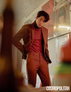 StyleKorea — Nam Joo Hyuk for Cosmopolitan Korea December Korean Men, Asian Men, Asian Actors, Korean Actors, Nam Joo Hyuk Smile, Lee Sung Kyung Nam Joo Hyuk, Nam Joo Hyuk Lee Sung Kyung, Nam Joo Hyuk Wallpaper, Joon Hyung