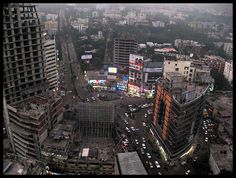 City view of Dhaka by Banking with the Poor Network, via Flickr
