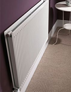 Quinn Round Top Double Panel Double Convector Radiator 97mm from wall or 76mm sgl. 30-90H, 30-200W. 50x60 =41, 50x980 =61