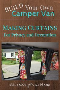 Making Camper Van Curtains - Road Trip the World