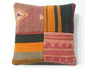 throw pillow cover 16x16 floor pillow cover kilim pillow sofa pillow cover DECOLIC novelty cushion cover 40x40 body pillow cover coral 16032