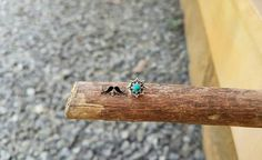 MACS Jewelry Handcrafted beautiful turquoise Indian nose stud for pierced nose