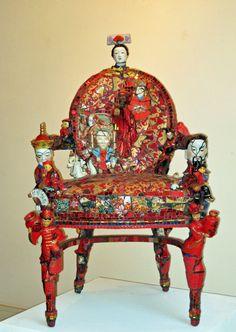 Sharon Landis Hansen - Red Chair