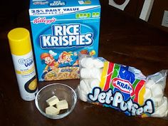 Rice Krispie Treats (Microwave Version)