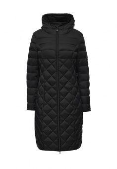 Пуховик, Odri Mio, цвет: черный. Артикул: OD006EWLWS32. Женская одежда / Верхняя одежда / Пуховики и зимние куртки