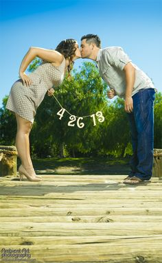 Fresno, Engagement ideas, Save the Date, sign, 2013, Wedding, CA, bride, groom, ring, creative, Lake, pond flowers, www.ambientartpho...