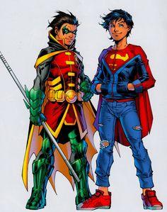 Damian Wayne & Jonathan Kent