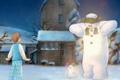 The Snowman and the Snowdog Christmas Past, Father Christmas, Christmas Movies, Snowman And The Snowdog, Snowman Quilt, Birth Of Jesus, Snow Dogs, December 25, Let It Snow