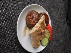 Portobello mushroom sandwich by Lonneke Engel - Organice Your Life