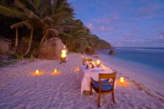 Grand Anse, Seychelles [The stirrings of a a memorable evening]