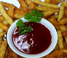how to make crispy french fries Crispy French Fries, Pakistan, Chili, Soup, Desserts, Beauty, Deserts, Chili Powder, Chilis