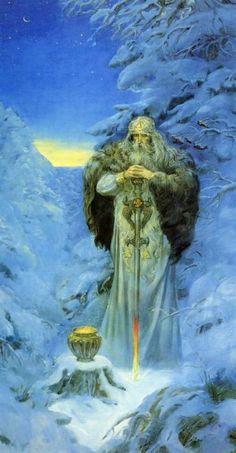 Forefather Svarog. Andrey Klimenko Art.