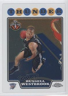 Russell Westbrook (Basketball Card) 2008-09 Topps Chrome #184