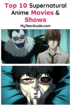 Top 10 Supernatural Anime Movies & Shows MyTeenGuide