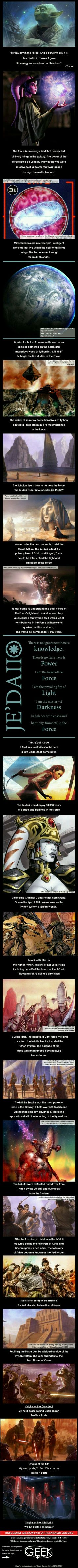 Origins of the Jedi and Force