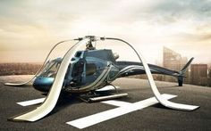 Helicopters also need holiday!