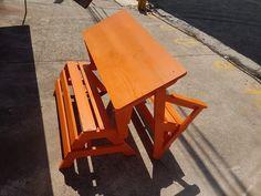 Móveis da Roça, Bench/Table combo.