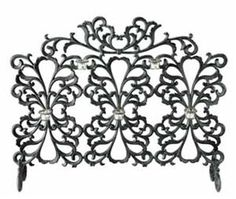 SPI Scroll and Votive Fireplace Screen