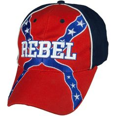 Rebel Flag With Embroidered Rebel Velcro Hat Southern Heritage, Southern Pride, Simply Southern, Country Wear, Country Outfits, Redneck Girl, Redneck Crazy, Redneck Clothes, Patriotic Pictures