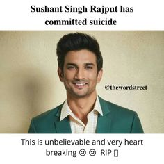 Rest in peace 🙏  #sushantsinghrajput #sushantsinghrajputrip #ripsushantsinghrajput#bestactor #kedarnathfilm #msdhoni #favoriteactor Best Love Quotes, Sad Quotes, Motivational Quotes, Inner Peace Quotes, Instagram Handle, Rest In Peace, Writings, Friendship Quotes, Articles