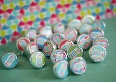 Hershey Easter printable stickers