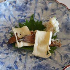 Kaiseki cuisine 鮒寿司  Crucian #kaisekiryori #kaiseki #autumn #nomnom by noriko_sweets