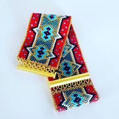 """Mi piace"": 213, commenti: 13 - Nermin - İstanbul/Türkiye (@miyuki_butik) su Instagram Peyote Patterns, Loom Patterns, Beading Patterns, Istanbul, Beaded Jewelry, Beaded Bracelets, Peyote Stitch, Loom Beading, Bracelets"