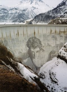 Dam it! Would love to see Hercules holding up the Tignes Dam in person.