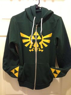 Legend of Zelda Triforce Hoodie..... I need this so bad it's not even funny...
