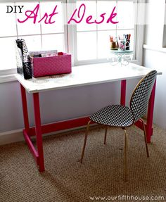 Cute and easy desk