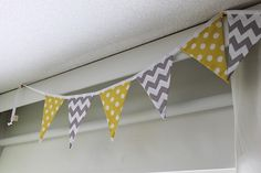 Kids room-flag ribbon from Etsy