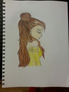 My version of Belle part 2 drawing