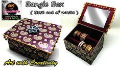 How to make bangle box | DIY | Art with Creativity 108